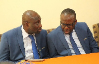 George Afriyie was removed as GFA Vice President by Kwesi Nyantakyi before the Anas expose