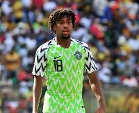 Nigeria's forward, Iwobi
