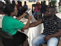 Residents of Amakom community were grateful for the chance to receive world-class medical attention