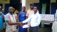 Assemblyman of Atuabo electoral area donates learning materials to schools