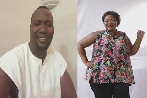 Bishop Bernard Nyarko and Christiana Awuni