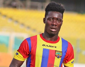 Winful Cobbinah will join Hearts of Oak for the rest of the season