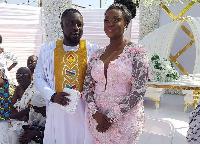 Bibi Bright and her husband Akwasi Boateng
