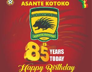 Asante Kotoko S.C is 85 years today