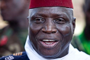 Yahya Jammeh is currently exiled in Equatorial Guinea