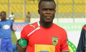 Former Asante Kotoko captain Amos Frimpong