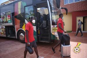 The Black Stars will be leaving for Sudan