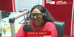 Veteran gospel musician, Grace Ashy