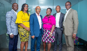 Executives of eTranzact Ghana Limited