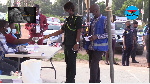 File photo of a special voting process in Kumasi