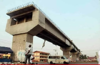 Madina-Adenta Highway Footbridge project is yet to be completed