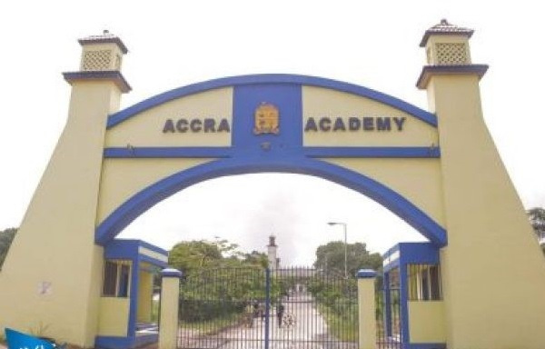 Entrance of the Accra Academy