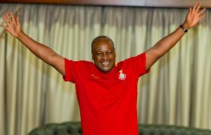 John Mahama Celeberate Win