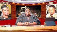 Yaa Anima Misa Gyampo is the judge on the Odo Wahala