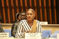 Mrs. Samira Bawumia is the wife of Vice President Mahamudu Bawumia