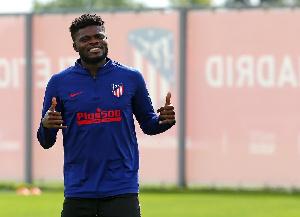 Black Stars midfielder,Thomas Teye Partey