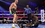 Tyson Fury devastated Deontary Wilder