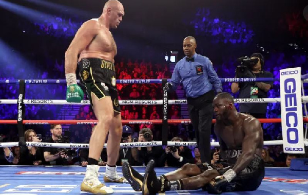 Fantastic Fury batters Wilder