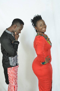 Okyeame and wife Annica