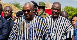 John Mahama and Ibrahim Mahama