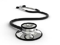 Stethoscope a medical equipment.     File photo.