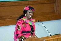 Former First Lady, Nana Konadu Agyeman Rawlings