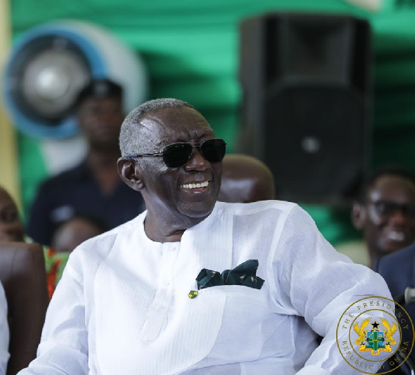 Former President Kufuor receives award for agricultural successes