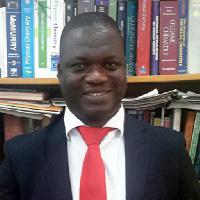 Senior Lecturer at KNUST Department of Chemistry, Dr. Richard Tia