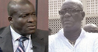Titus Glover(L) meets Kempes Ofosuware in the Parliamentary race