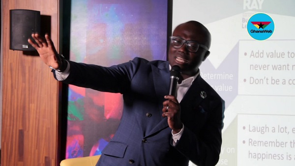 The then Chief Executive Officer of EIB Network Nathan Kwabena Anokye Adisi