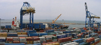 Down by a record, Maritime cargo volume shrank by 44.9 percent year-on-year in the first quarter