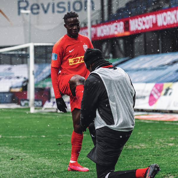 Kamal Deen Sulemana on target for FC Nordsjaelland in draw at Copenhagen