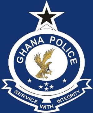 Ghanaian Police Logo Blue2345
