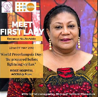 Meet the First Lady on World Preeclampsia Day