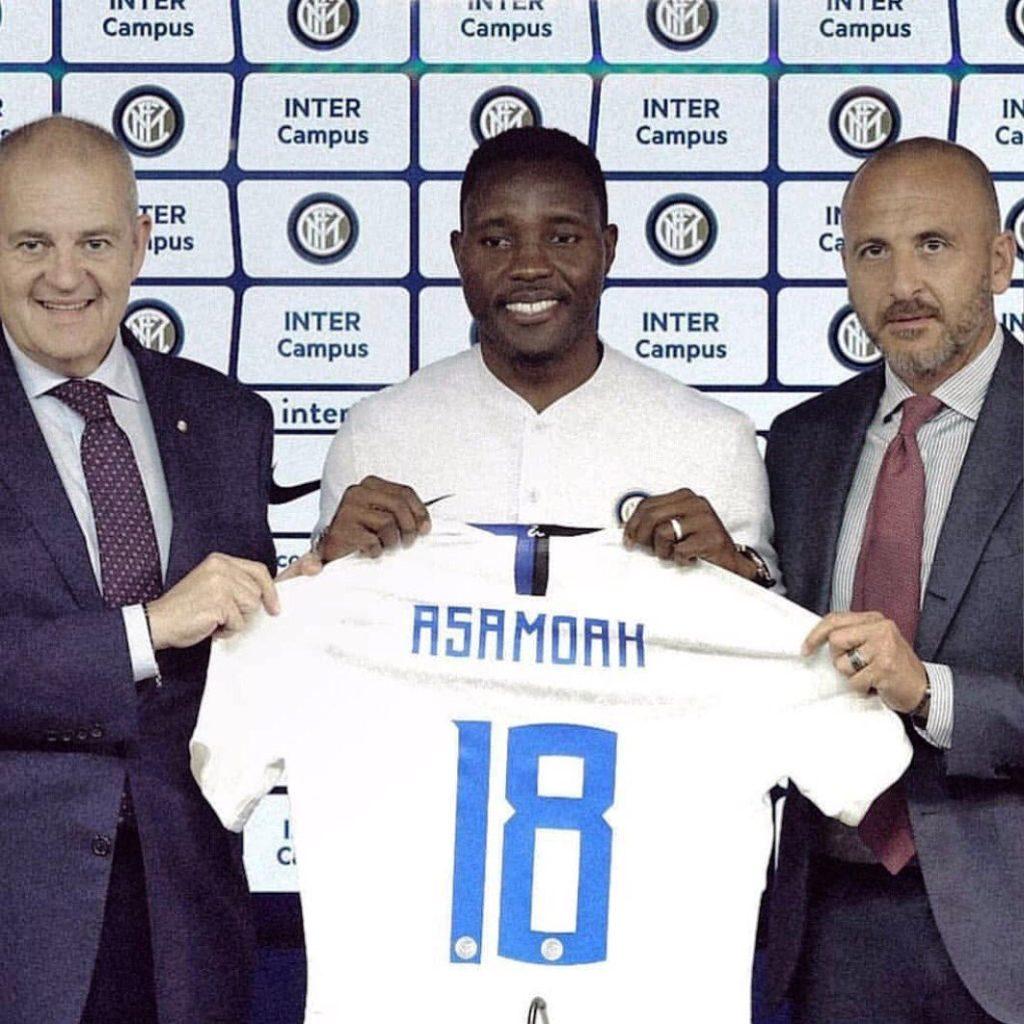 Kwadwo Asamoah becomes the fourth Ghanaian to wear Inter Milan ...