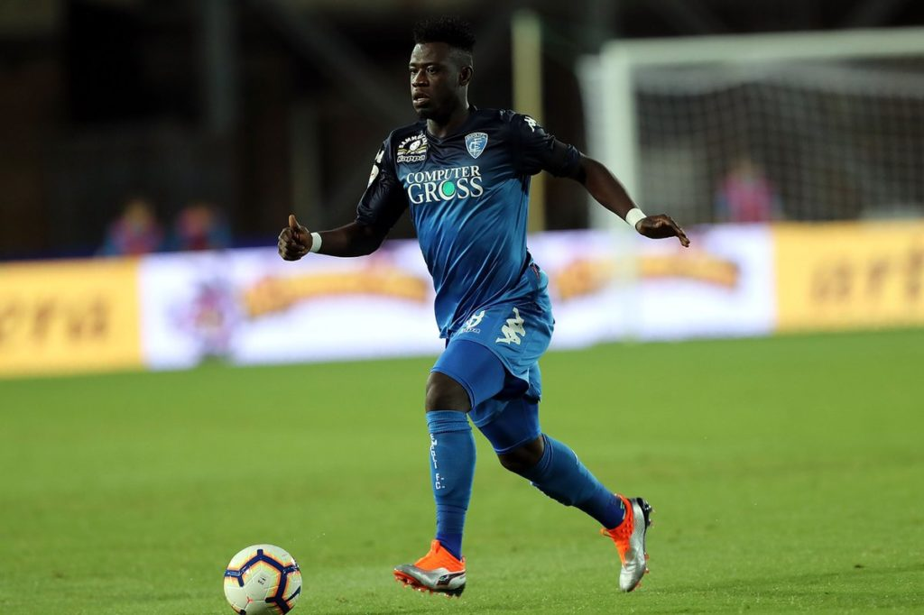 Afriyie Acquah returns to action for Empoli after injury recovery