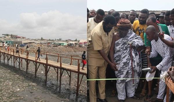 'Absolute disgrace'- Nana Aba reacts to Oko Vanderpuije's wooden footbridge
