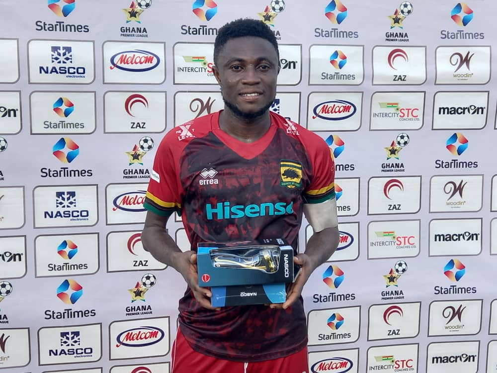 Emmanuel Gyamfi signs new Asante Kotoko contract - Reports