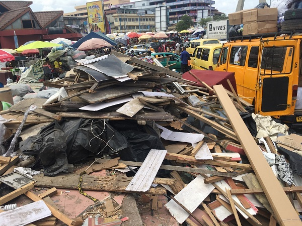 We were not served notice prior to the demolishing – Traders at Rawlings park lament