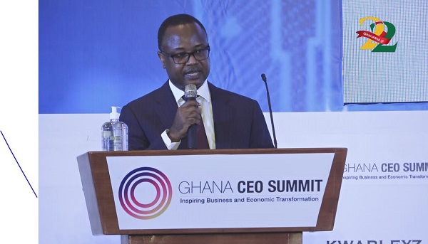 First Deputy Governor of the Bank of Ghana, Dr  Maxwell Opoku Afari.
