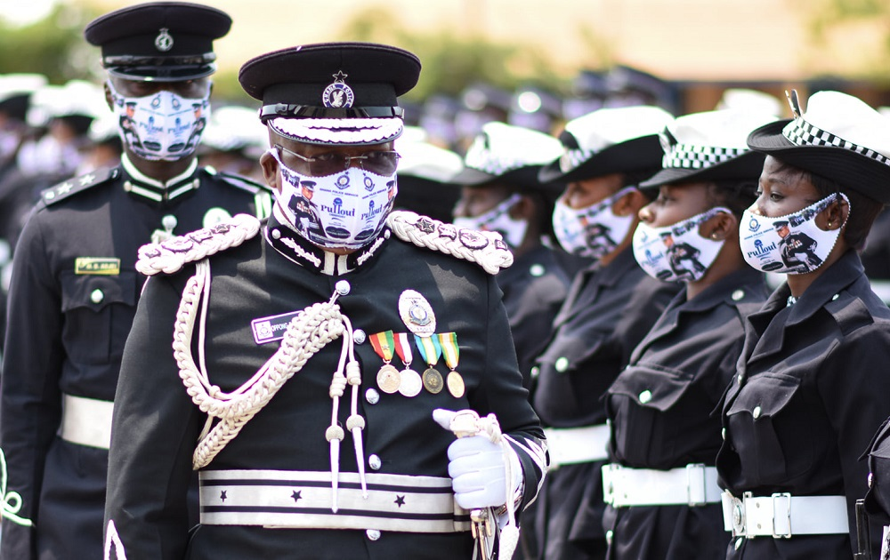 IGP Oppong-Boanuh farewell parade