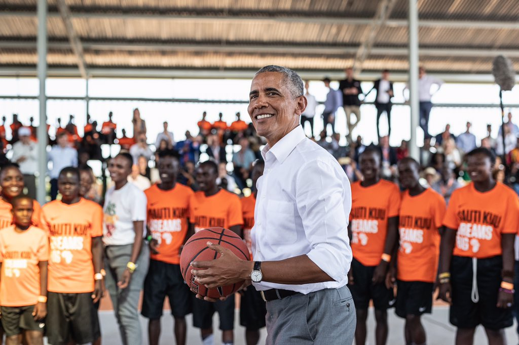 Former US president Barack Obama joins NBA Africa as strategic partner