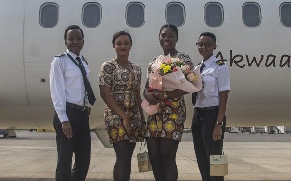 Meet Ghana's historic all-female flight crew [PHOTOS] 3
