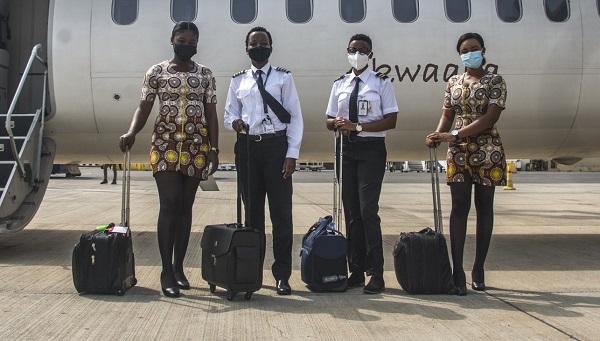 Meet Ghana's historic all-female flight crew [PHOTOS] 2