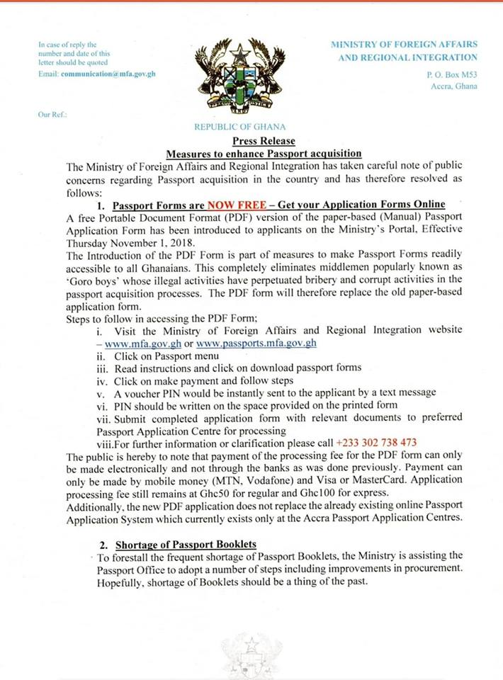 Zimbabwe Passport Application Forms Pdf