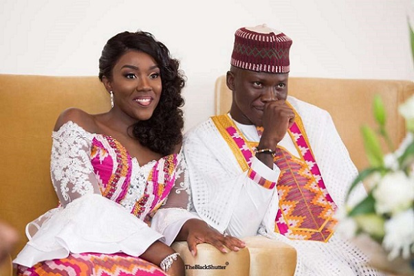 Image result for stonebwoy and wife images
