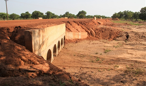 Regional Report: Residents rejoice over completion of culverts on Navrongo-Kologo road