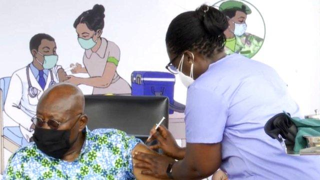 GhanaWeb FactCheck: Did Akufo-Addo take a malaria vaccine instead of a COVID vaccine?
