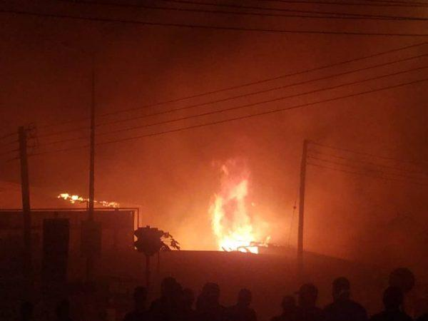Close to 30 shops at Kumasi Central Market gutted by fire