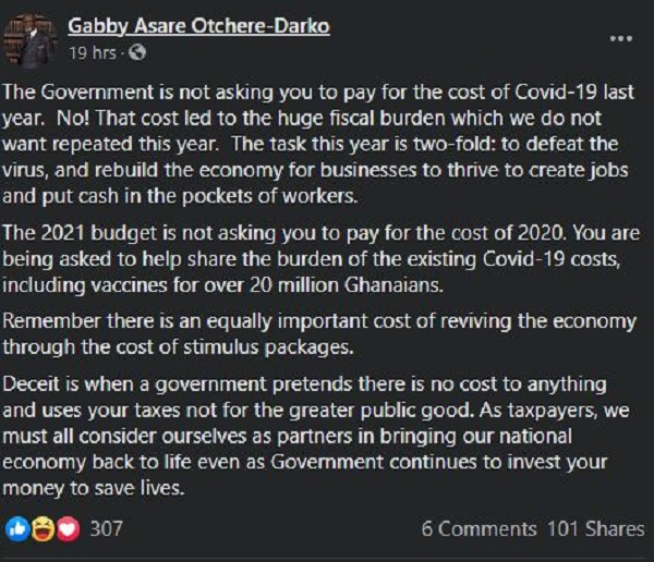 Gabby Otchere-Darko clashes with Oppong Nkrumah on new taxes. 4